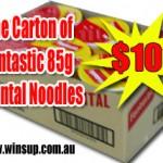 Carton Fantastic 85gm Oriental Noodles