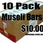 Museli bars and Poppers