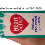 Cholesterol lowering milk