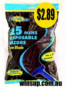 True value 25pk shaver
