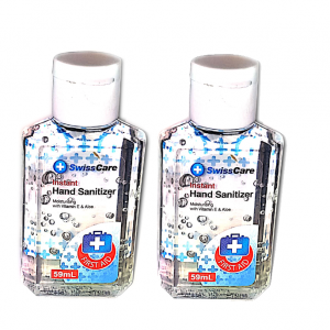2 x 59ml Hand sanitiser just 12