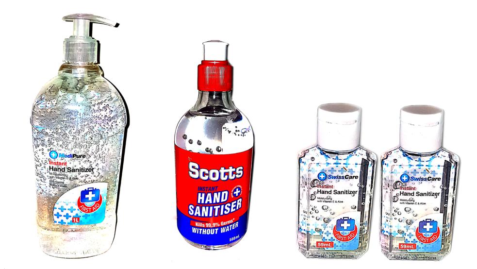 winnellie supermarket sanitizer range
