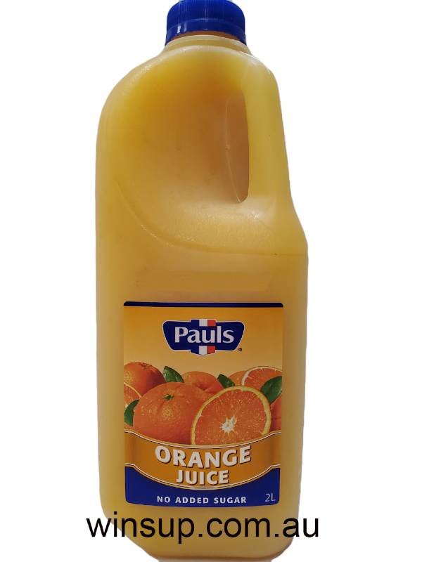 pauls 2l orange juice office delivery